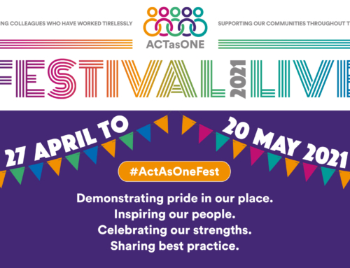 Act as One – how you can take part!