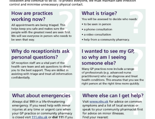 Why are GP Practices still working differently?