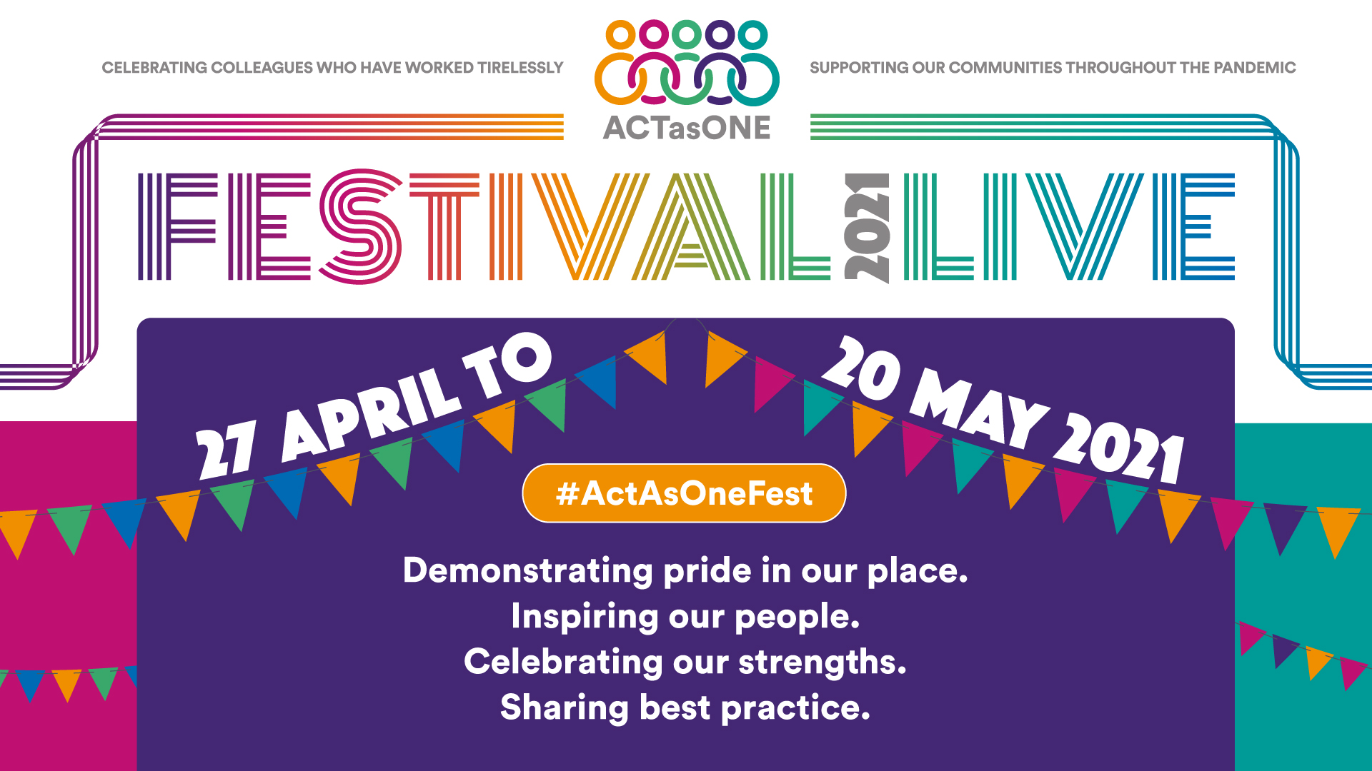 Act as One Festival – more events added to line up